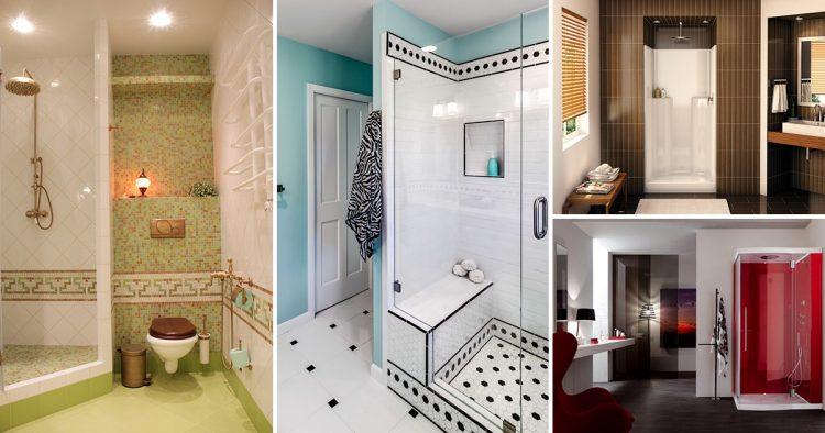 20 ідей оформлення ванної кімнати з душовою кабінкою