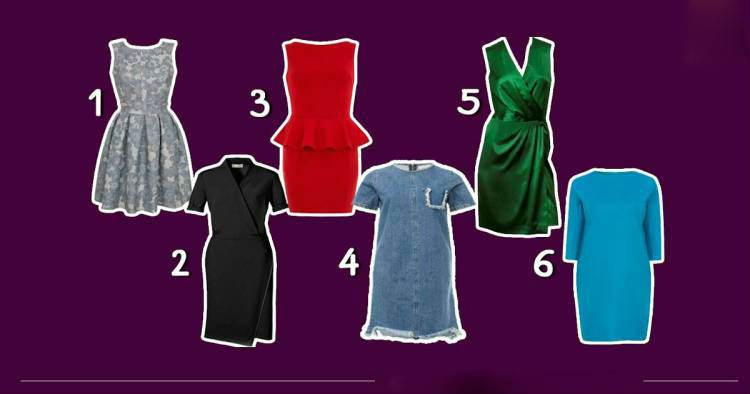 Виберіть плаття і дізнайтеся, яка ви жінка і, що думають про вас чоловіки