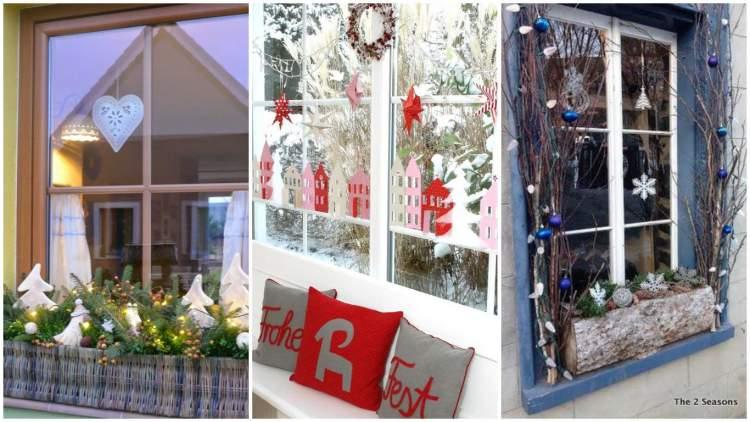 Оригінальні ідеї декорування підвіконь до Зимових свят