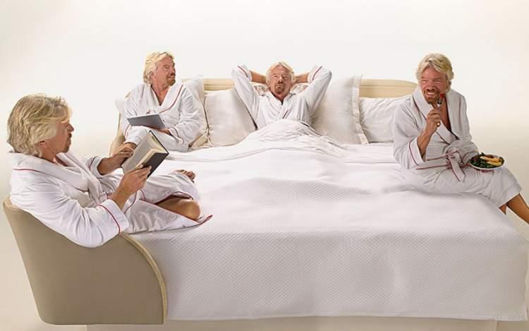 """""""Спати більше"""" — рецепт успіху від Річарда Бренсона"""