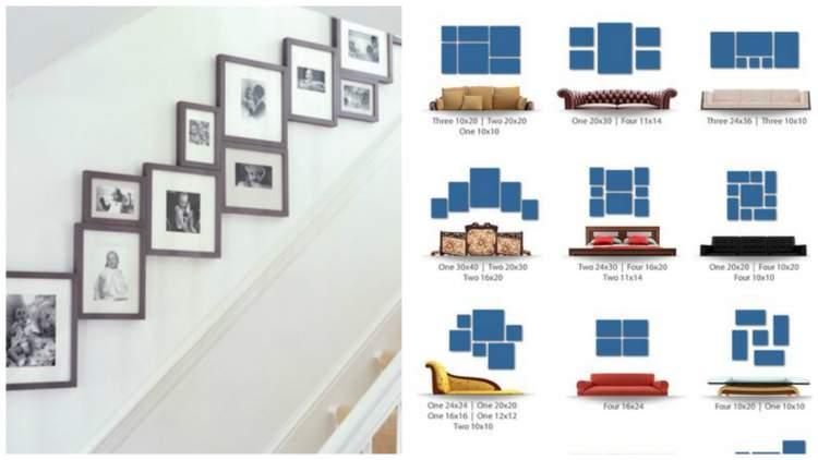 Домашня галерея: ідеї грамотного розміщення картин та фото