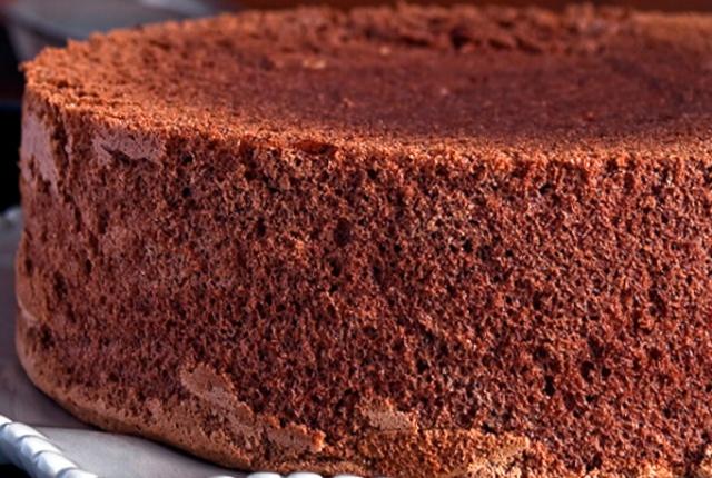 Простий шоколадний бісквіт