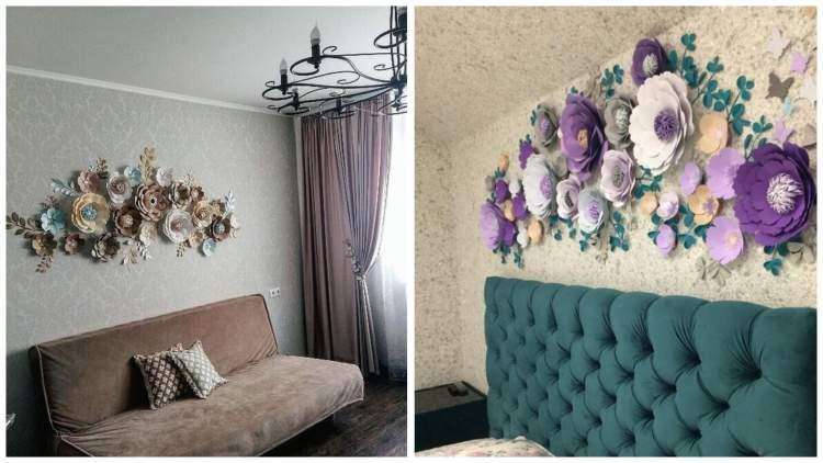 Декоруємо оселю паперовими квітами:25 ідей