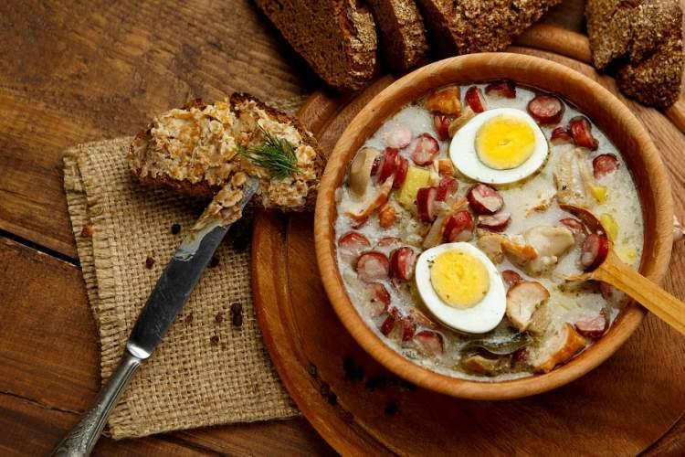 Польський суп Журек — насолода для гурманів