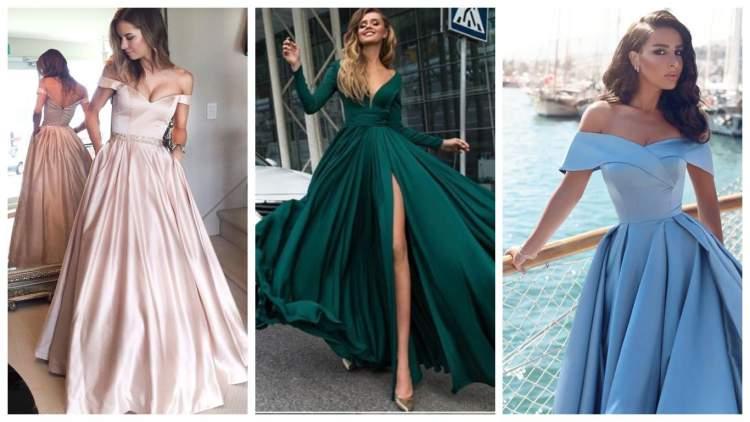 Вечірні сукні: елегантність та простота крою