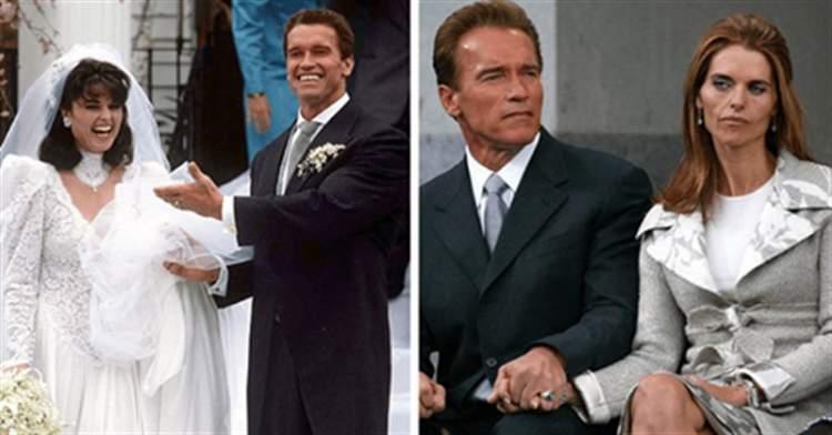 12 знаменитих зіркових пар в день весілля і розлучення