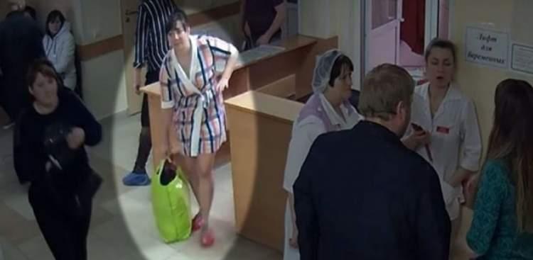 Камери відеонагляду зафіксували, що жінка виносить сумки з лікарні. Ось, що там виявилося!