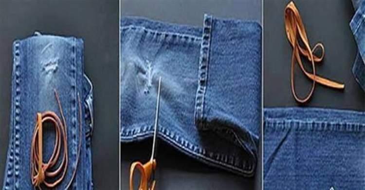 Ось які супер речі можна зробити зі старих джинсів. Яка краса!