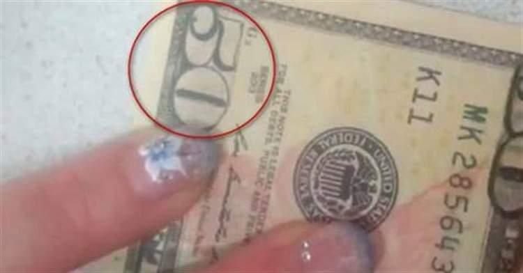 Дівчина протерла спиртом купюру в 50 $ … — Те, що вийшло в результаті — справжній ШОК !!!