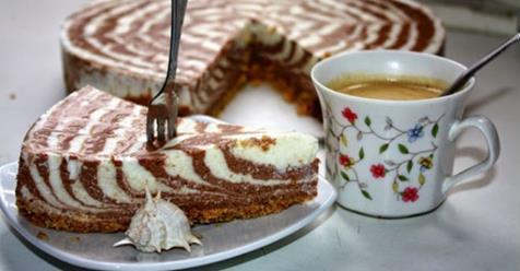Гарний і смачний сирний торт без випічки. Чудовий десерт на святковий стіл!