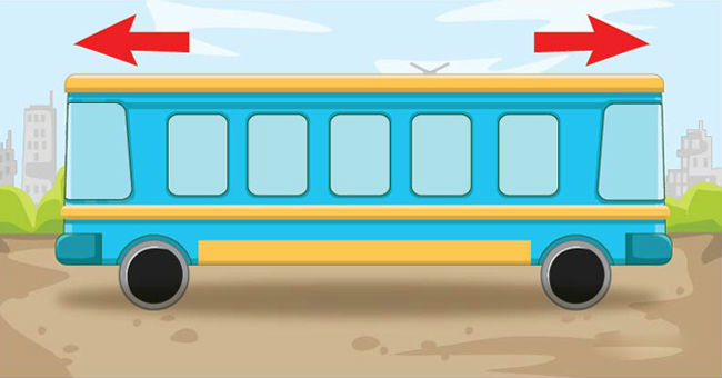 Дитяча загадка, яка застає зненацька дорослих: в який бік їде автобус?