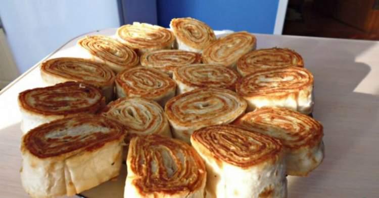 Оригінальна закуска з вірменського лаваша. Швидко і дуже смачно!