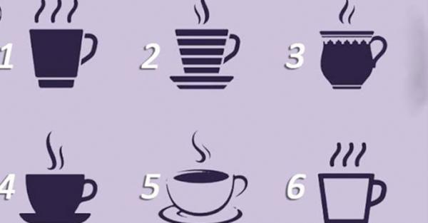 Виберіть одну з чашок, щоб краще пізнати себе