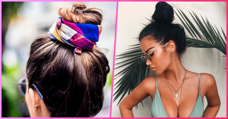 8 стильних варіантів зібрати волосся в спекотну погоду