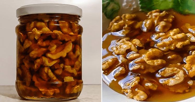 Ось що станеться з вами, якщо ви змішаєте мед і горіхи. Їжте це щодня і не пошкодуєте!
