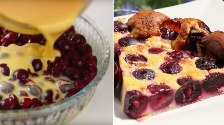 Французька кухня: ідеальний пиріг з вишнею «Клафуті»