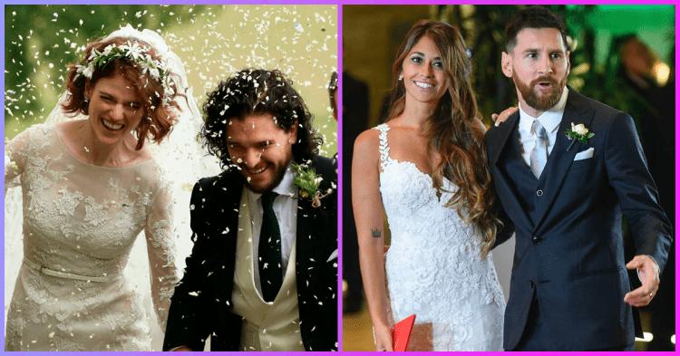 Просто казка: найкрасивіші весілля знаменитостей 2018