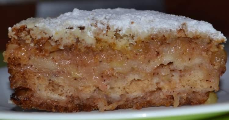 Яблучний пиріг Три склянки