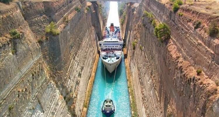 Найвужчий судноплавний канал в світі, який будували 2,5 тисячі років