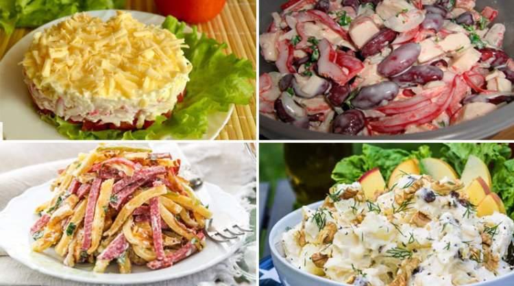 Відмінна добірка 10 найсмачніших і швидких салатів
