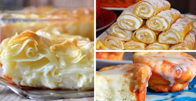 Смачна випічка з сиру! Топ-9 рецептів