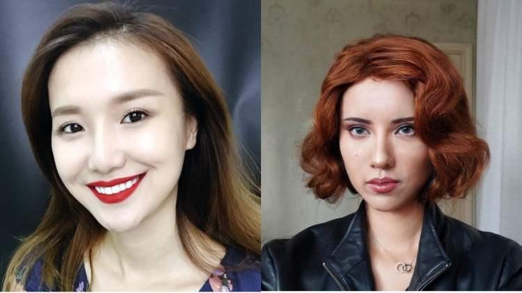 Людина-хамелеон: китаянка перетворюється в кого завгодно за допомогою косметики