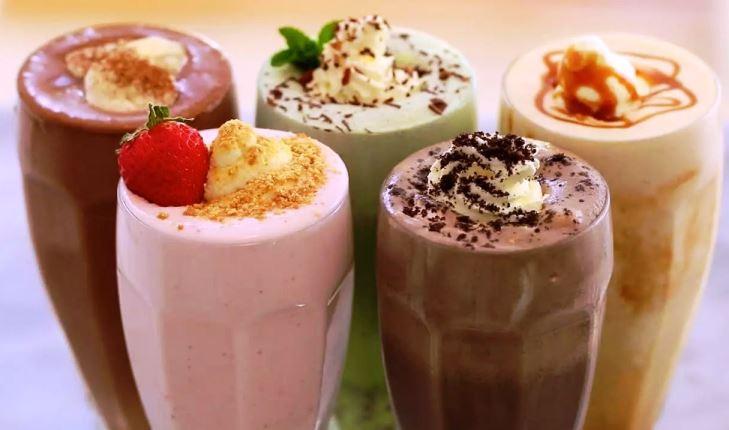 П'ять класних молочних коктейлів!