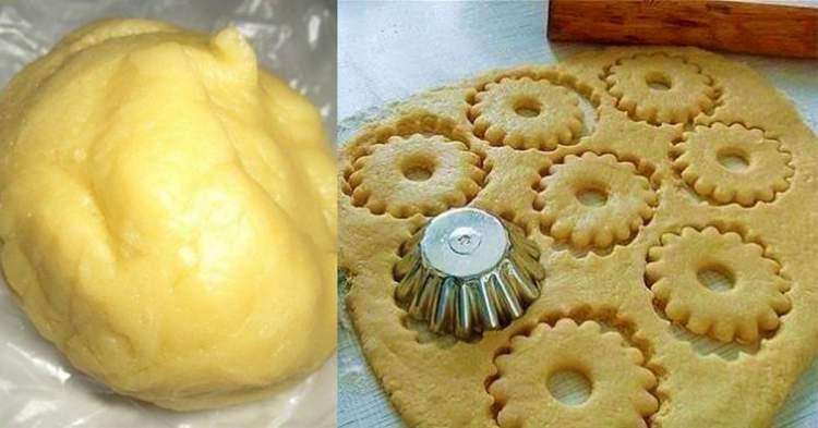 Це найулюбленіший рецепт пісочного тіста, яке готується дуже легко і просто